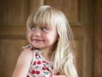 smiley little girl