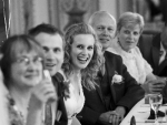 Bride laughing speech