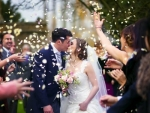 confetti Wedding Photo