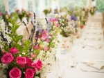 Wedding Marquee Flowers