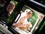 Bride Groom Wedding Car